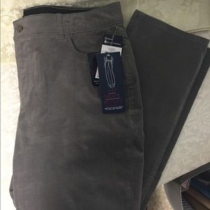 Chaps Gray Corduroy Jeans